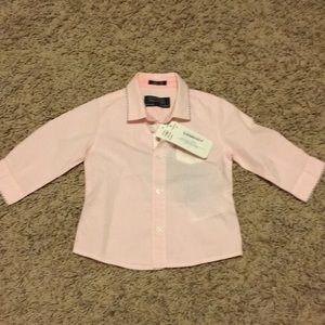 Light Pink Baby Boy Dress Shirt